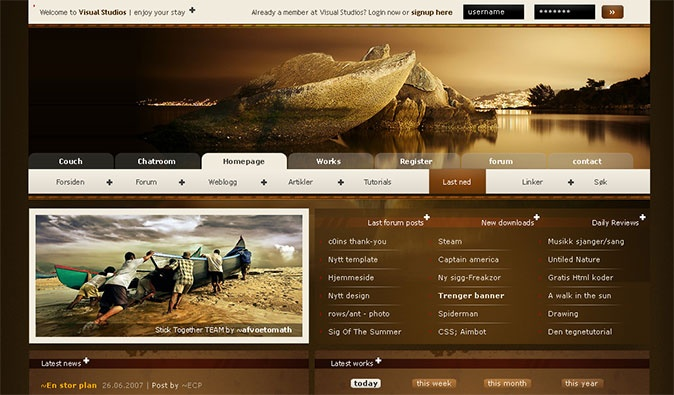 http://www.webdesigndev.com/web-development/30-amazing-web-design-interfaces-from-deviantart