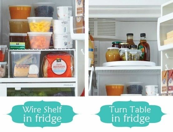 Supplement Your Fridge Storage | 52 Totally Feasible Ways To Organize Your Entire Home