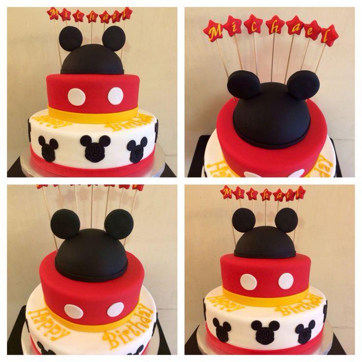 MICKEY MOUSE CAKE, erin marcelino