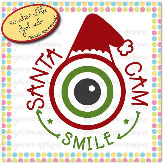 Santa Cam svgsanta clause cam svgcamera svgchristmas