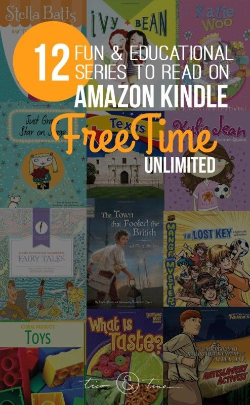 12 Fun & Educational Series to check out on Amazon Kindle FreeTime unlimited | homeschooling, minimalist, simplify
