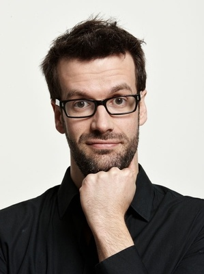 Marcus Brigstocke, photographed by Jay Brook