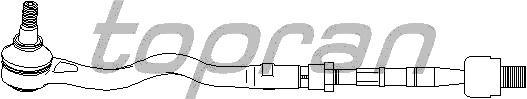 bara directie TOPRAN BMW 3 cupe (E46) 320 Cd