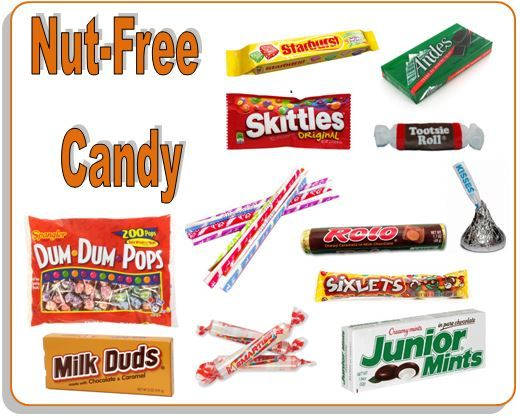 Consider these nut-free candies for Halloween, but see our post for others that are surprisingly not safe for kids with nut allergies.
