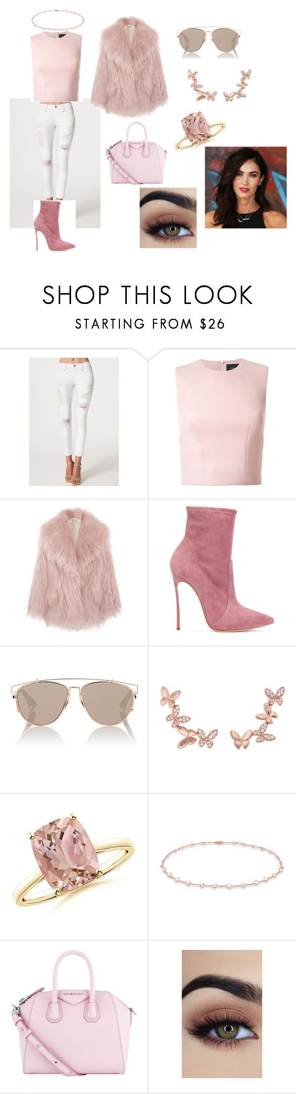 """Brittney"" by mrstomlinson974 on Polyvore featuring Bebe, Simone Rocha, Miu Miu, Casadei, Christian Dior, Anyallerie, Anne Sisteron and Givenchy"