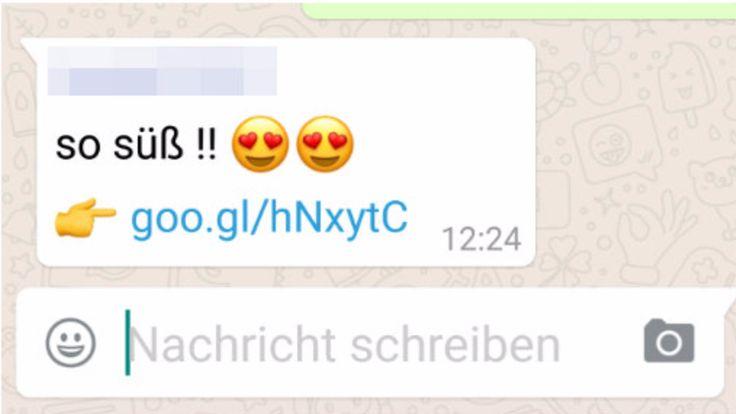 Von wegen neue Emojis - Süße Whatsapp-Nachricht will nur Ihre Daten!