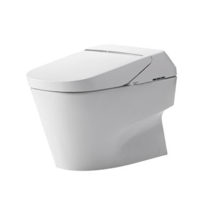 An integrated toilet with technologically advanced Washlet, this Neorest is a truly remarkable combination of ecology and luxury. Meeting both ADA and Universal Design needs, people of all ages and abilities can enjoy all of the Neorest innovations, including TOTO's Tornado flushing system, eWater+ Technology, remote control, spray modes including WonderSpin® and WonderWave®, automatic flushing and CeFiONtect, an extraordinarily smooth, ion-barrier surface to help keep the bowl cleaner lo...