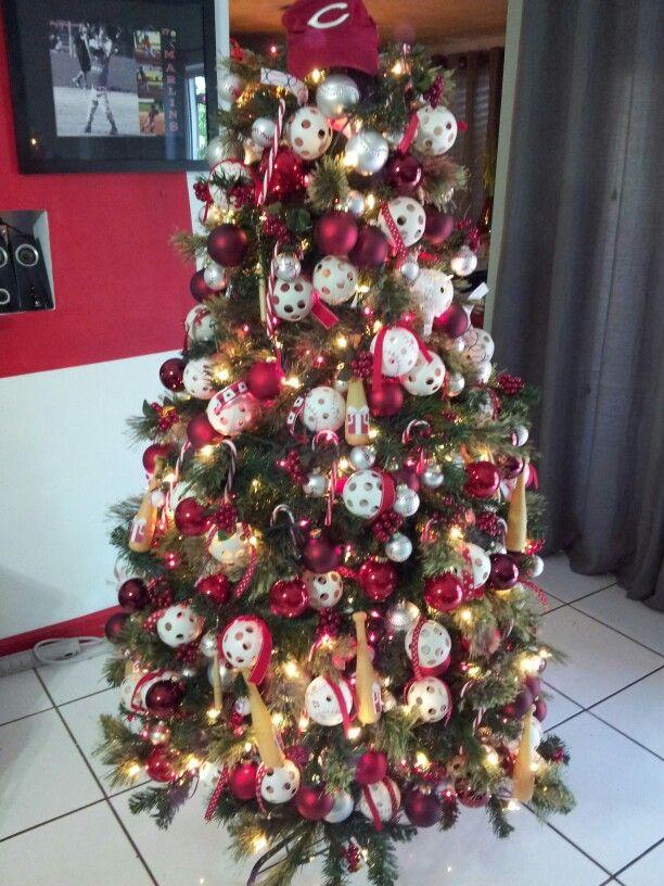 Baseball tree 8 best Baseball Christmas decoration
