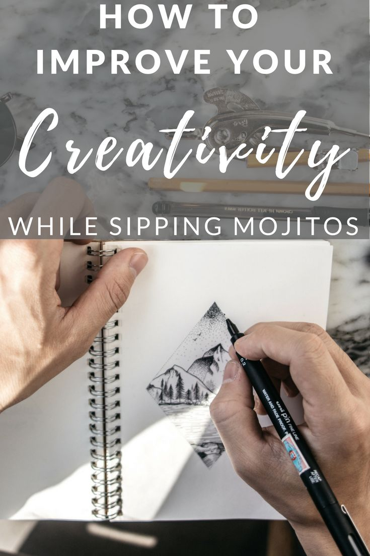 More time and increased creativity. As a bonus: Mojitos, massages, less foreplay, and improved memory — who can say no to that?