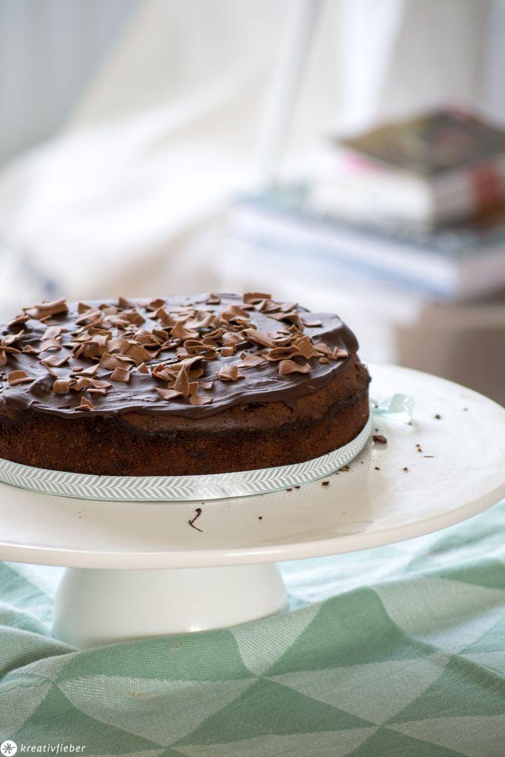 Kleiner Schoko Mud Cake – schokoladige Rezeptidee – 20cm Kuchen – #20cm #cake #k…