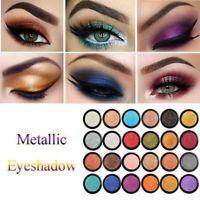 24 Colors Glitter Shimmer Metallic Eyeshadow Palette Pigment Eye Shadow Charm JE