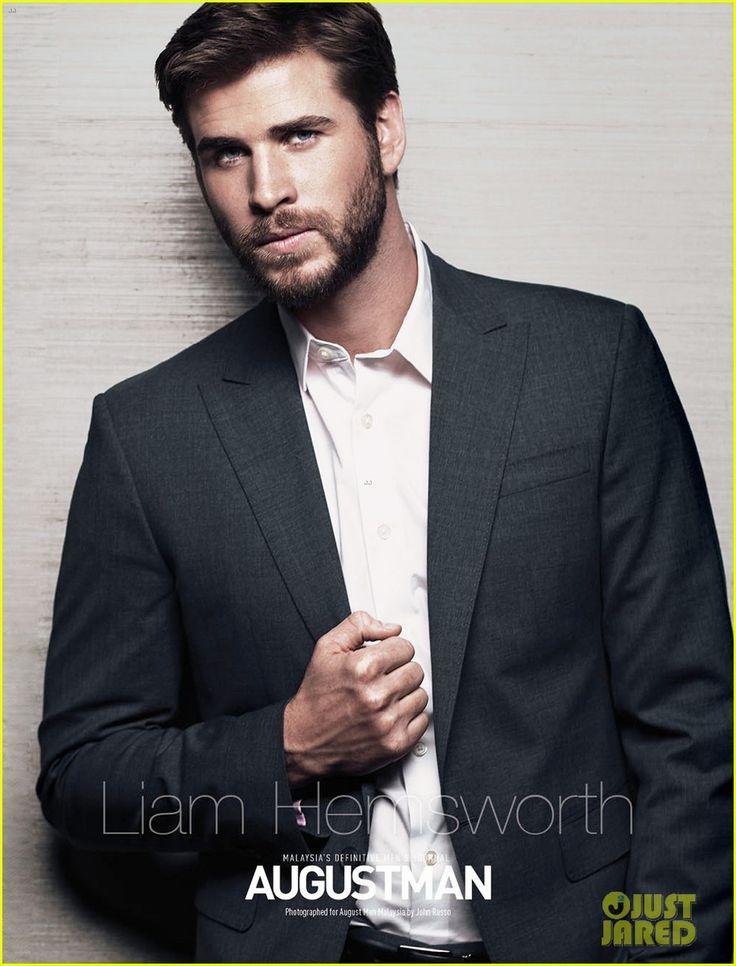 Liam Hemsworth Covers 'August Man' Magazine's June 2016 Issue (Exclusive)