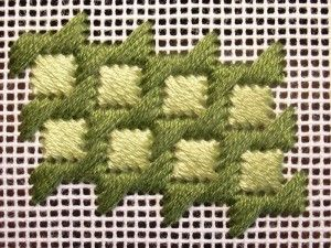 Dragon Hide Stitch & Variations - NeedlepointTeacher.com