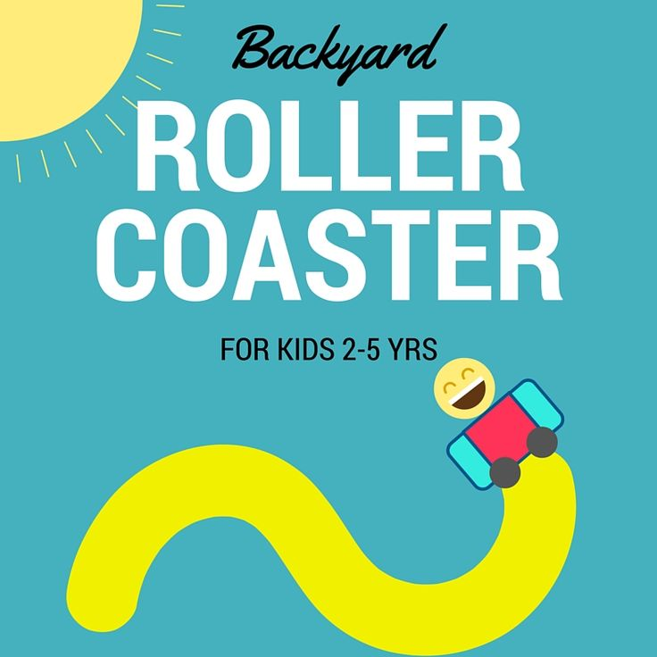 Kids Backyard Roller Coaster - For Young Thrill Seekers ...