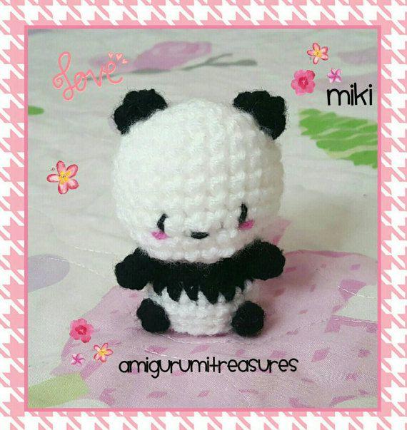Kawaii Panda Amigurumi : 17 Best ideas about Crochet Panda on Pinterest Crochet ...