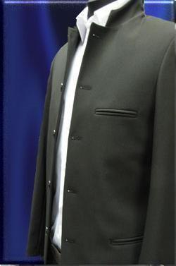 Пиджак со стоечкой