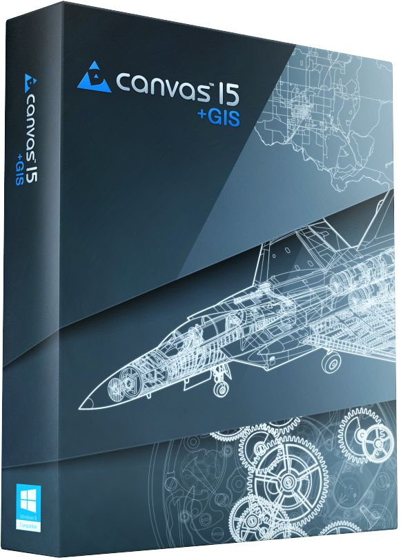 ACD Systems Canvas plus GIS v15.5.1770 Incl.Keymaker-CORE