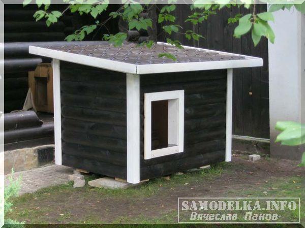 Самоделка: строим будку для собаки своими руками