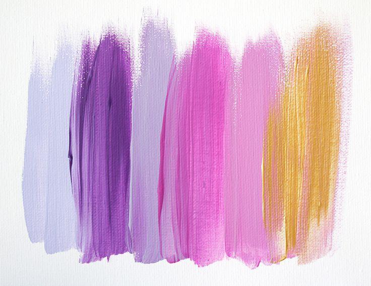 Colors 27 - an original painting by Jen Ramos at Cocoa & Hearts