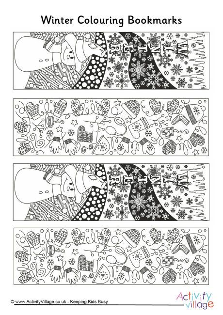 "Winter doodle colouring bookmarks free | Join fb grown-up coloring group: ""I Like to Color! How 'Bout You?"" https://m.facebook.com/groups/1639475759652439/?ref=ts&fref=ts"