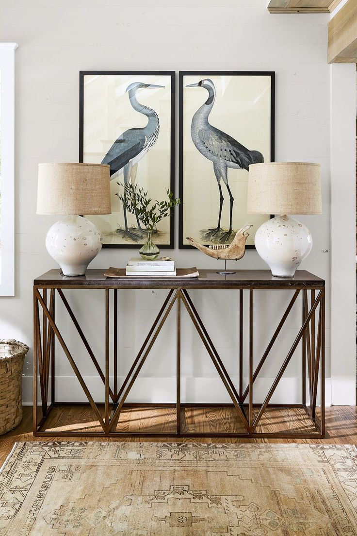 Best 25 beach style console tables ideas on pinterest beach birds from nostalgia fine art bluestone topped console table geotapseo Images