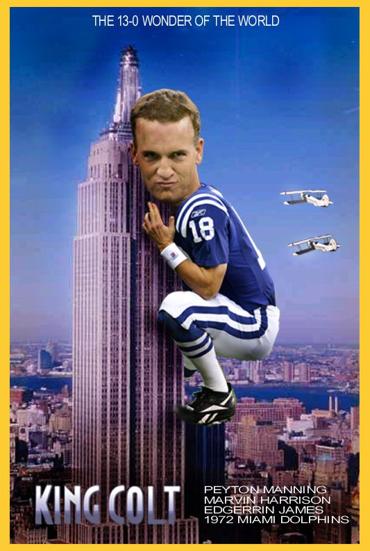 Peyton Manning...Hell Yes!! Still King Colt, Always King Colt. King Bronco now.
