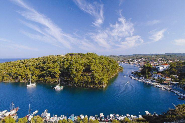 Scenic #Paxos island in the #Ionian sea, #Greece