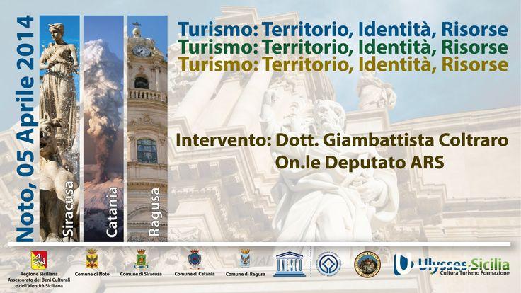 Turismo  Territorio, Identità, Risorse   Intervento On le Dep  G  Coltr...