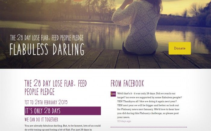 Flabuary is a new charity raising money by people losing weight in the month of February. Amazing Creative created their brand and this, their new website....