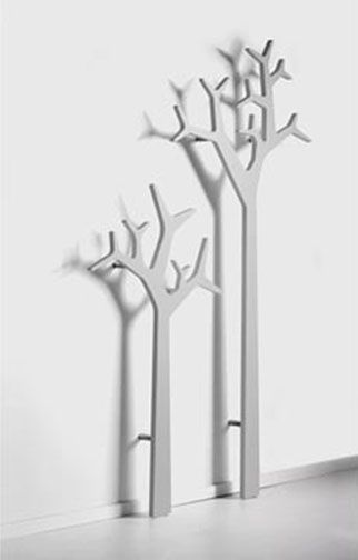 Tree coat rack or for laying out school clothes, smaller one for Kaleb and taller one for Abby!