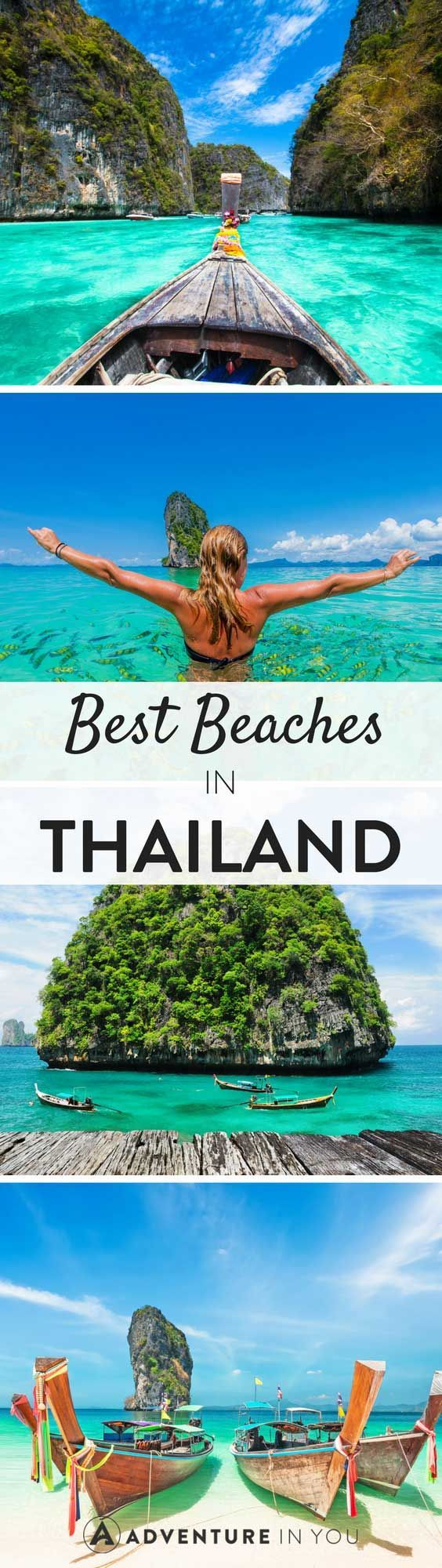 Explore some of the best beaches in Thailand, the land of smiles.