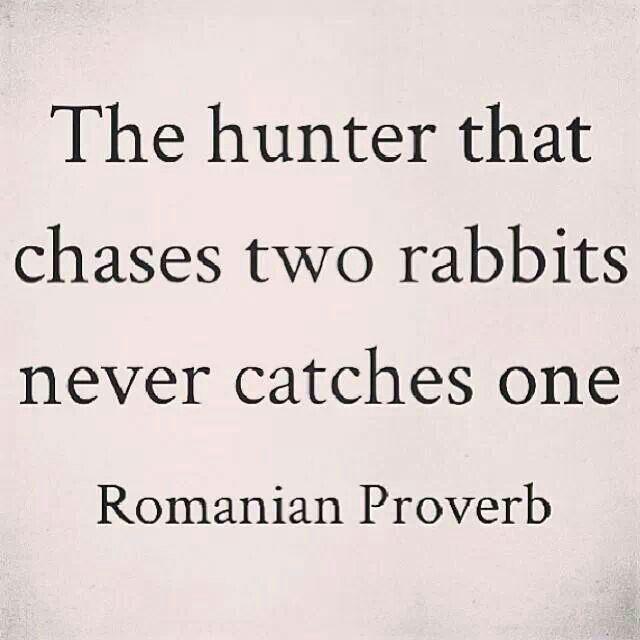 Romanian Proverb