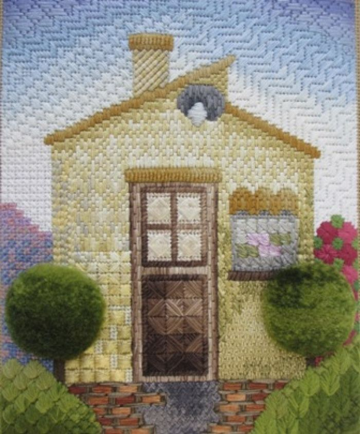 Canvas stitches - Certificate Kaoru Ozaki