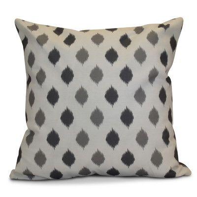 The Holiday Aisle Hanukkah 2016 Decorative Holiday Geometric Euro Pillow Color: Gray
