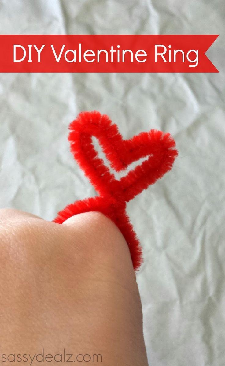 valentine's day tinsel garland