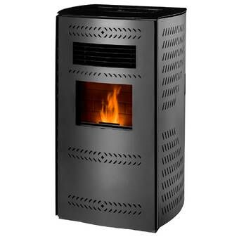 US Stove Small Wood Pellets Stove & Reviews | Wayfair in ...