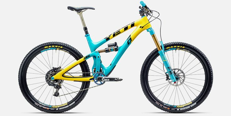 Yeti Limited-Edition 30th Anniversary SB6c enduro mountain bike #WereNotWorthy This could be the prettiest, most capable bike the brand has ever produced.