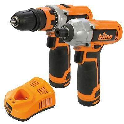Triton T12 Drill Driver & Impact Driver Twin Pack Rechargeable 12V Li-Ion 972446 - http://www.ebay.co.uk/itm/Triton-T12-Drill-Driver-Impact-Driver-Twin-Pack-Rechargeable-12V-Li-Ion-972446-/322896236143 #cordlessdrills