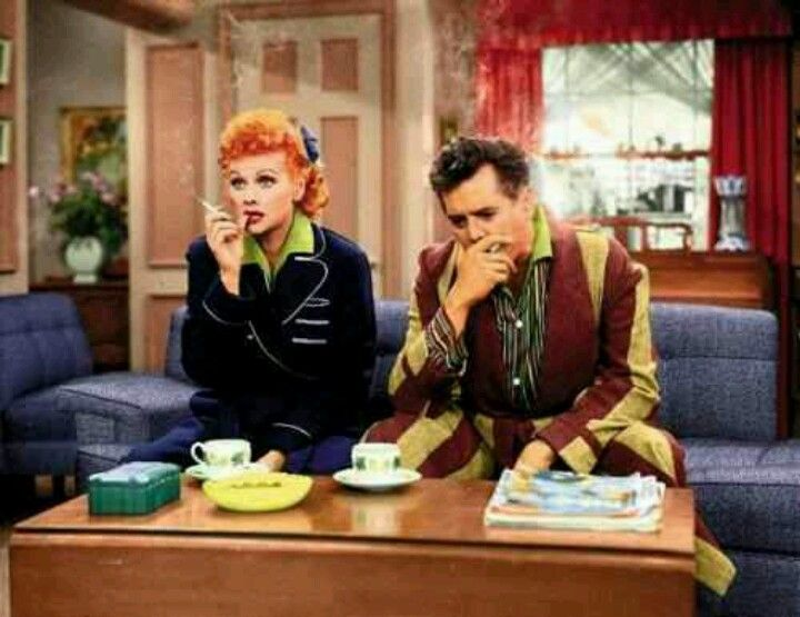 Color Still From I Love Lucy Have You Ever Wondered About