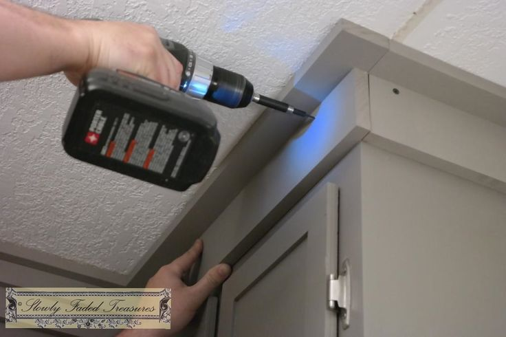 Creating Craftsman Style Crown Molding for Kitchen Remodel ...