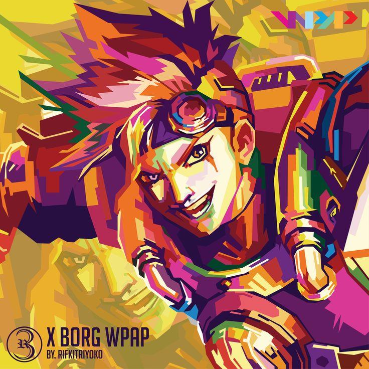 X Borg WPAP in 2020   Mobile legend wallpaper, Mobile ...