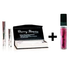 Beauty :: Value Packs :: Brush on Eyelash Extensions + Healing Lip Gloss - SAVE $10 - Bag Organisers - Cherry Blooms - Functional Fashion for Women