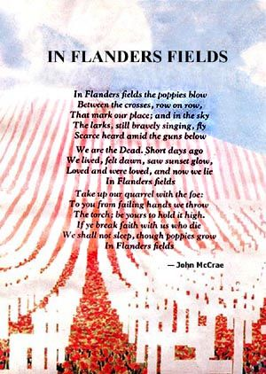 25+ best ideas about Flanders field on Pinterest | Remembrance day ...