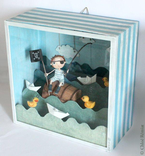 boite peche aux canards