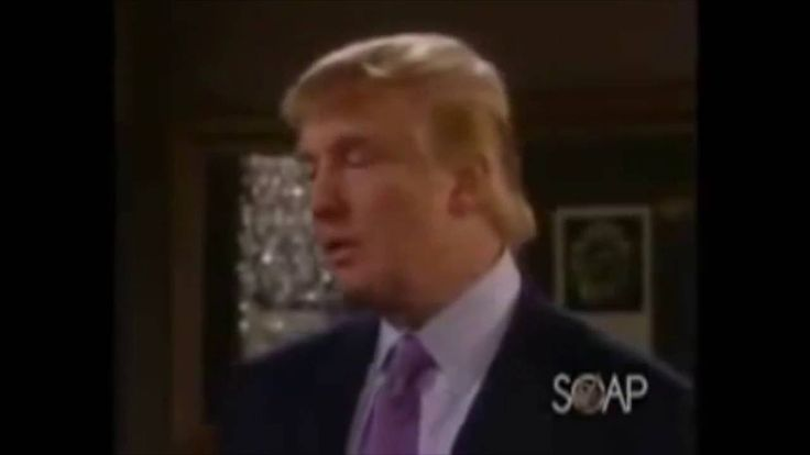 Trump days of our lives cameo. https://www.youtube.com/attribution_link?a=dNEdg8FJL7c&u=%2Fwatch%3Fv%3DmLU_CSYOaFw%26feature%3Dshare