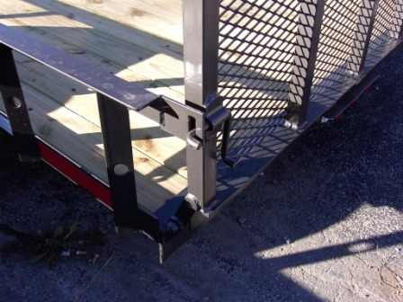 Utility Trailer Gate Latch Welding Ideas Utility