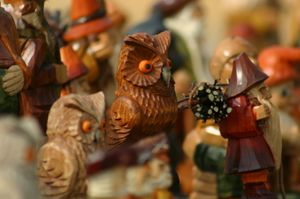 Learn About Polish Culture With These Great Photos: Wooden Folk Carving from Poland - Wooden Toys from Poland