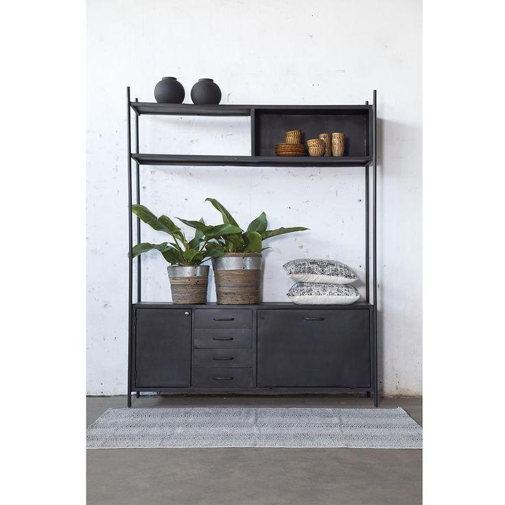 Fernsehmöbel Fik Black Giga Furniture