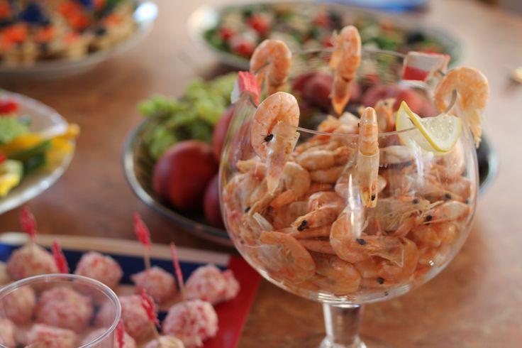 1 Birthday, sea theme, anchor, food, canapes, skewers, shrimp, якорь, морская тема, вечеринка в морском стиле, Первый день рождения, детский день рождения, закуски, еда, капапе, шпажки, креветки