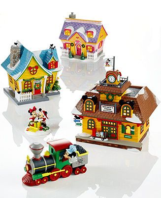 Department 56 Mickey's Christmas Village Collection